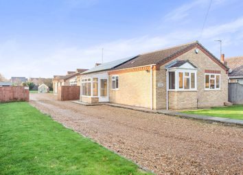 Thumbnail 3 bed detached bungalow for sale in Meadowgate Lane, Wisbech