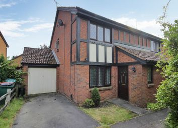 Thumbnail 3 bed semi-detached house for sale in Redgrave Drive, Maidenbower, Crawley, West Sussex