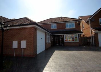 Thumbnail 5 bed detached house for sale in Ellergreen Road, Hindley Green, Wigan