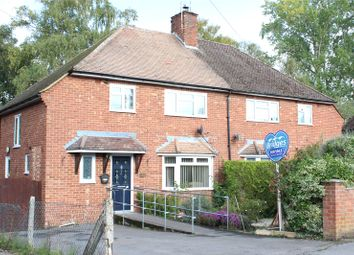 Thumbnail 3 bed semi-detached house for sale in Wickham Road, Church Crookham, Fleet