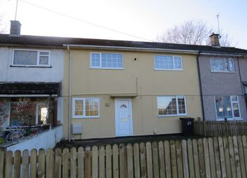 Thumbnail 3 bedroom terraced house for sale in Minety Road, Swindon