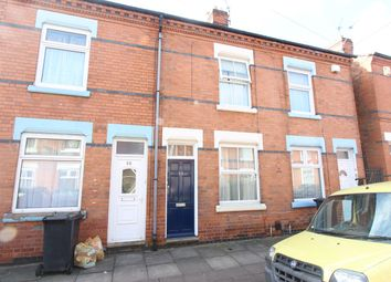 Thumbnail 2 bed terraced house for sale in Herschell Street, Leicester
