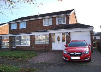 Thumbnail 3 bed semi-detached house for sale in Walden Close, Ouston, Chester Le Street