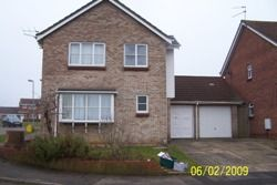 Thumbnail 4 bed detached house to rent in Goldfinch Close, Colchester