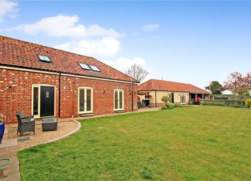 Thumbnail 5 bed barn conversion for sale in School Road, Bergh Apton, Norwich, Norfolk