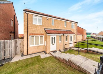 Thumbnail 3 bedroom semi-detached house for sale in Merlin Way, Hartlepool
