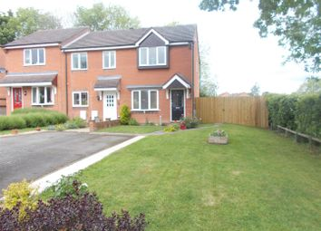 Thumbnail 2 bed semi-detached house for sale in Leabank Close, Shrewsbury