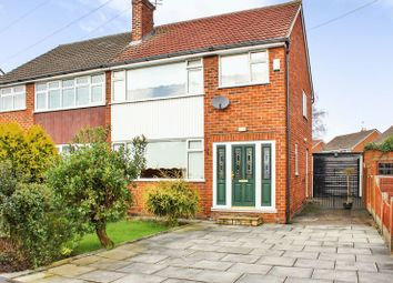 Thumbnail 3 bed semi-detached house for sale in Lambourn Avenue, Widnes