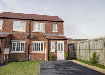 Thumbnail 3 bed semi-detached house for sale in Askrigg Close, Consett