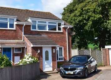 Thumbnail 3 bed semi-detached house for sale in Hooker Close, Budleigh Salterton