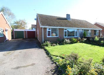 Thumbnail 2 bed semi-detached bungalow for sale in Roden Grove, Wem, Shrewsbury