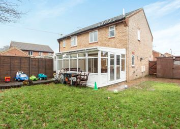 Thumbnail 3 bedroom semi-detached house for sale in Stratton Close, Swaffham