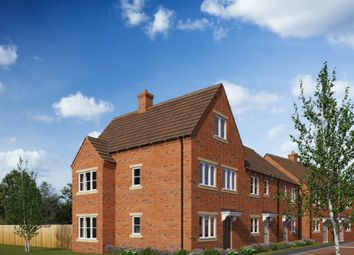 Thumbnail 3 bed town house for sale in Brick Kiln Road, Raunds, Wellingborough
