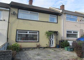 Thumbnail 3 bed terraced house for sale in Gurnos Road, Merthyr Tydfil