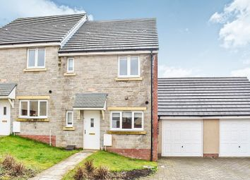 Thumbnail 3 bed semi-detached house for sale in Llys Yr Onnen, Coity, Bridgend.