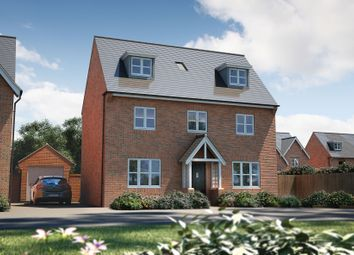 "Thumbnail 4 bed detached house for sale in ""The Landguard"" at Winchester Road, Boorley Green, Botley"
