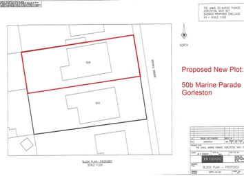 Thumbnail Land for sale in Marine Parade, Gorleston, Great Yarmouth