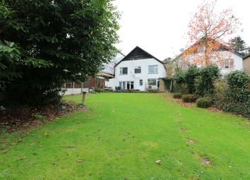 Thumbnail 4 bed detached house for sale in Manor Road, Chigwell
