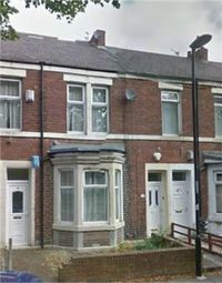 Thumbnail 3 bed flat to rent in Holly Avenue, Wallsend, Tyne And Wear