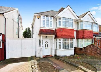 Thumbnail 3 bed semi-detached house for sale in Portland Crescent, Stanmore