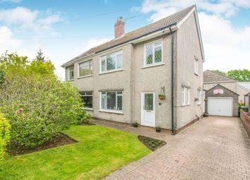 4 bed semi-detached house for sale in Heol Llanishen Fach, Rhiwbina, Cardiff CF14
