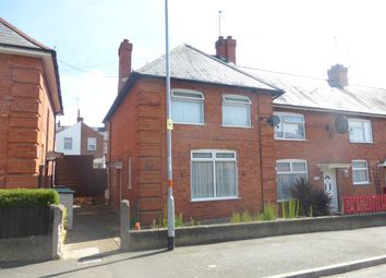 Thumbnail 3 bed end terrace house for sale in Rosebery Avenue, Northampton