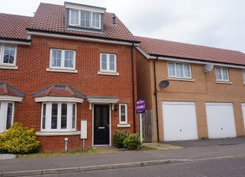 Thumbnail 4 bed town house for sale in Jasmine Road, Bury St. Edmunds