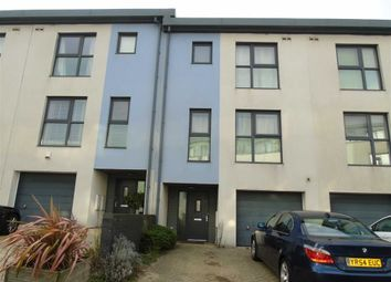 Thumbnail 4 bed town house for sale in Marina Villas, Trawler Road, Swansea