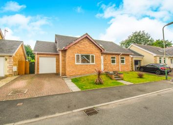 Thumbnail 4 bed detached bungalow for sale in Herons View, Pengam, Blackwood