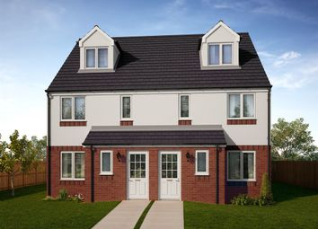 "Thumbnail 4 bedroom town house for sale in ""The Bothwell"" at Grosset Place, Glenrothes"