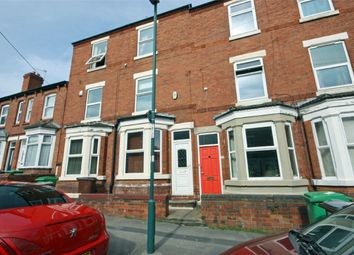 Thumbnail 3 bed terraced house to rent in Burford Road, Nottingham, Nottinghamshire