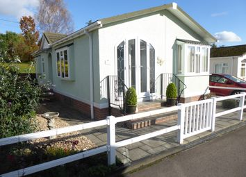 Thumbnail 2 bed mobile/park home for sale in Belindas Park, Milkwall, Coleford, Gloucestershire