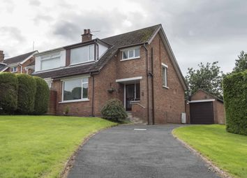 Thumbnail 3 bed semi-detached house for sale in Glenview Crescent, Castlereagh, Belfast