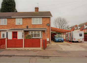 Thumbnail 3 bed semi-detached house for sale in Glebe Road, Rugeley