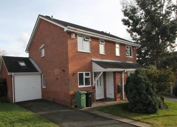 Thumbnail 2 bed semi-detached house to rent in Skylark Close, Gornal Wood, Dudley