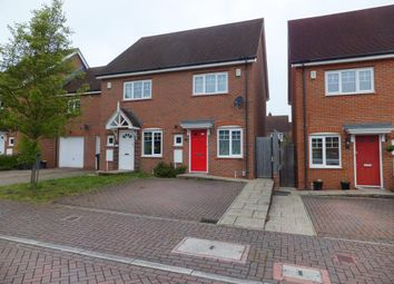 Thumbnail 2 bed semi-detached house to rent in Falconer Road, Fleet
