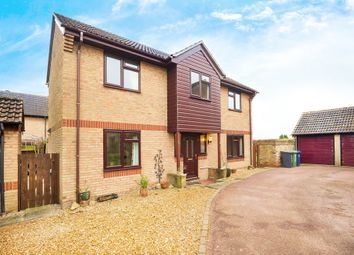 Thumbnail 4 bedroom detached house for sale in Vermuyden Way, Fen Drayton, Cambridge