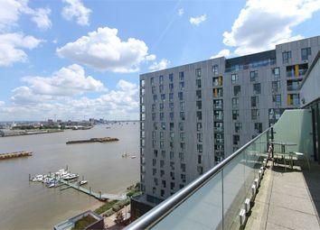 Thumbnail 2 bed flat to rent in 25 Barge Walk, Platinum Riverside, London