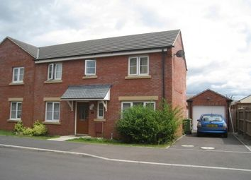 Thumbnail 3 bed semi-detached house to rent in Barley Leaze, Chippenham