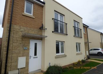Thumbnail 3 bed semi-detached house to rent in Admiral Way, Exeter
