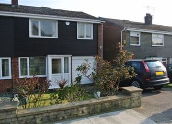 Thumbnail 3 bed semi-detached house to rent in Sisley Avenue, Stapleford, Nottingham