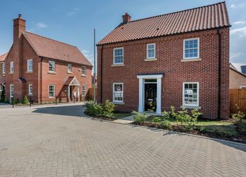 Thumbnail 4 bed detached house for sale in Woodpecker Avenue, Holt