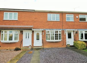 Thumbnail 2 bed town house to rent in Norfolk Close, Warsop, Mansfield, Nottinghamshire