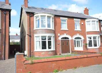 Thumbnail 3 bed flat for sale in Boscombe Road, Blackpool