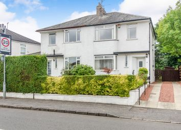 Thumbnail 3 bed semi-detached house for sale in Robslee Road, Thornliebank, Glasgow
