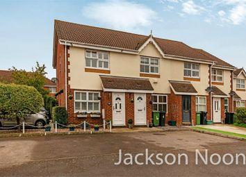 Thumbnail 2 bed end terrace house for sale in Pemberley Close, West Ewell, Epsom