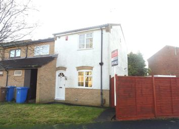 Thumbnail 2 bed semi-detached house for sale in Luccombe Drive, Alvaston, Derby