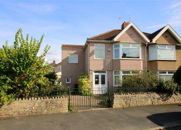 Thumbnail 4 bed semi-detached house for sale in Hendre Road, Ashton, Bristol