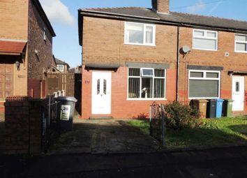 Thumbnail 2 bedroom semi-detached house for sale in Waverley Crescent, Droylsden, Manchester