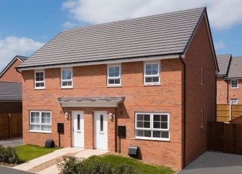 Thumbnail 3 bed terraced house for sale in The Maidstone At Lloyd Mews, Stoke-On-Trent